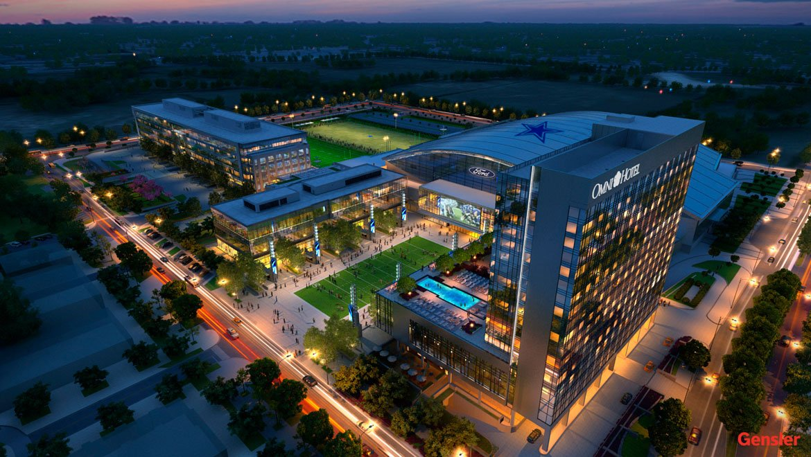 New renderings for Omni Frisco Hotel coming to The Star in Frisco via @krobijake https://t.co/I9AqvoXdfK https://t.co/gVNX1LZylg