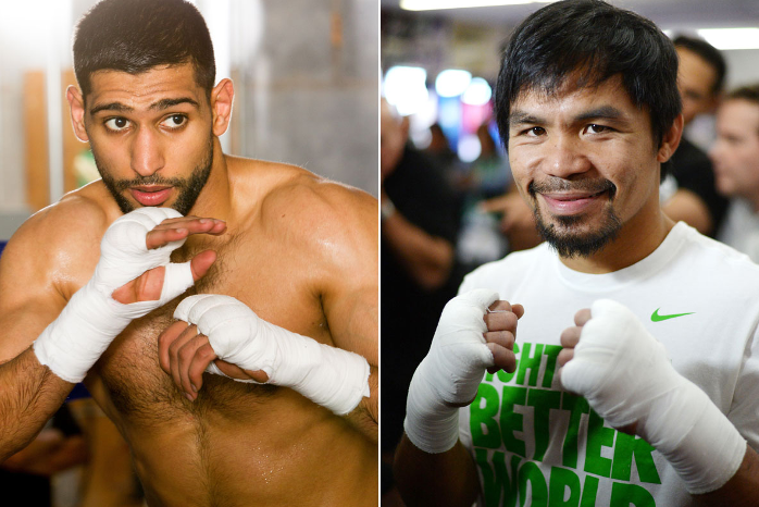 Amir Khan agrees blockbuster deal to fight Manny Pacquiao in Las Vegas on April 9 https://t.co/Go2MIJhNaM https://t.co/b1mRxhruAh