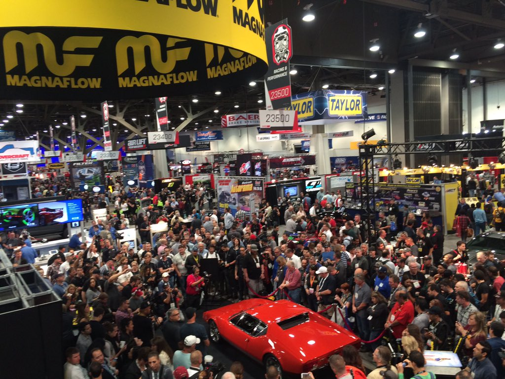 The @chipfoose Pantera is uncovered! What a debut! RT for a chance to win MF swag! #MFSEMA2015 https://t.co/7EIvvtquh7