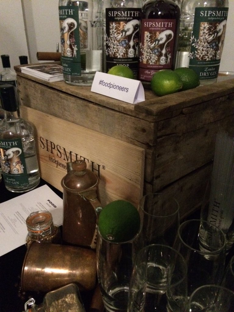@sipsmith tasting fabulous as always #FoodPioneers https://t.co/IjHKfN5HeV
