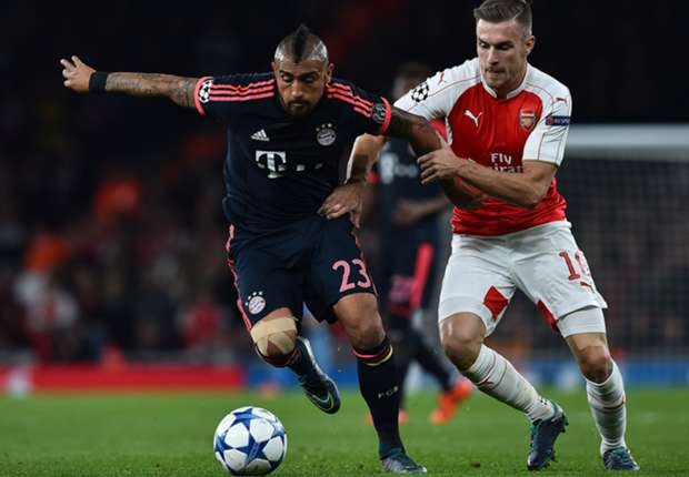 Bayern Monaco-Arsenal Rojadirecta Diretta Streaming Champions League Premium Calcio oggi 04-11-2015
