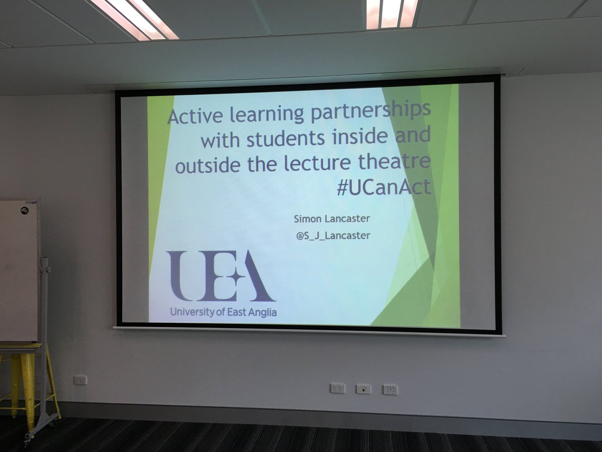 "Thumbnail for University of Canberra Active Learning ""Contact Session"""