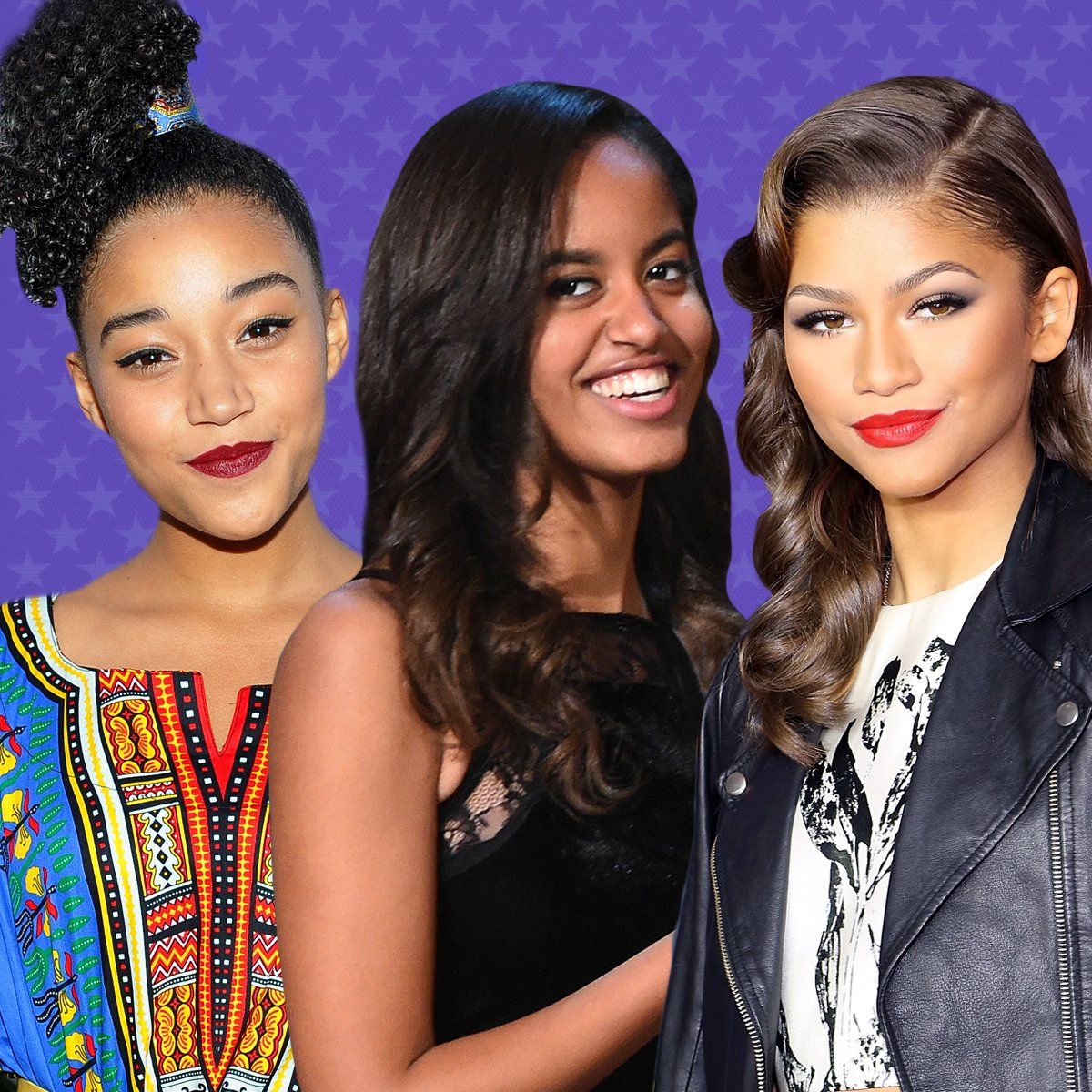 Congrats! Zendaya, Malia Obama & Amandla Stenberg make TIME's 'Most Influential Teens' list: https://t.co/iQoAoSsqYY