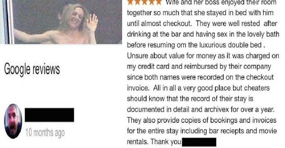 "klinger on Twitter: ""Husband Leaves Hotel Review Based Off His ..."