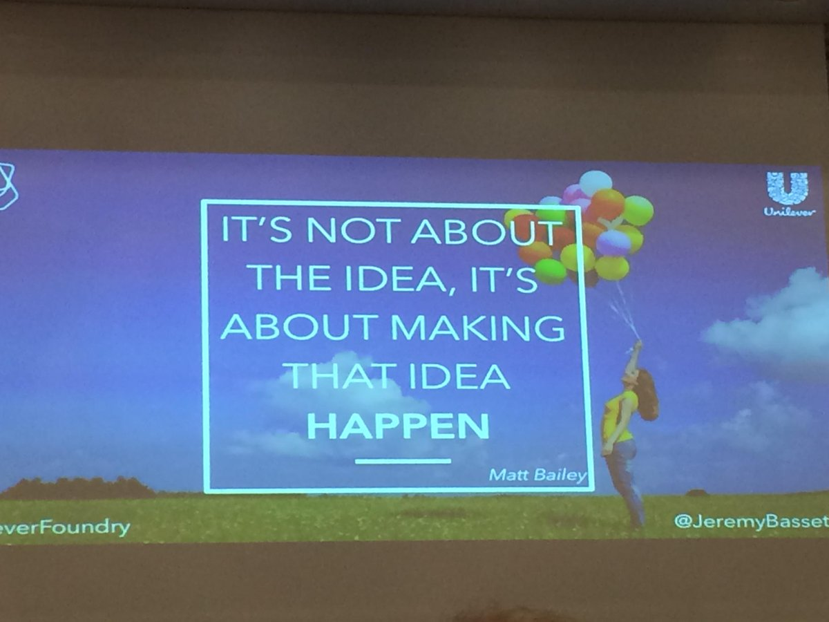 """It's not about the idea but to make the idea happen"" Jeremy Basset #IRsummit15 @iroundtable https://t.co/8cvM4bV9NC"