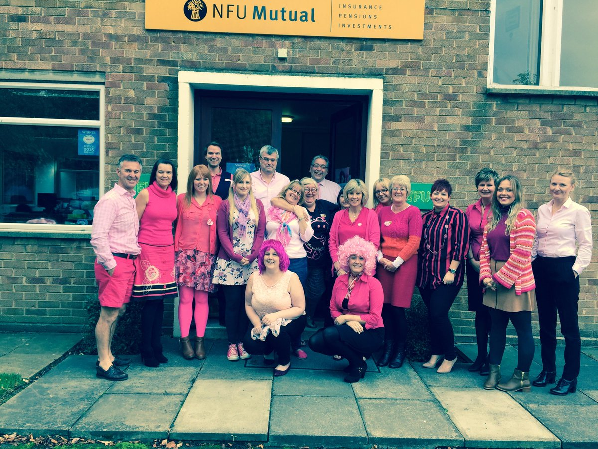 Wear It Pink at Spalding agency today supporting Breast Cancer Awareness. Well done everyone, great day! https://t.co/H9JUum0o4o