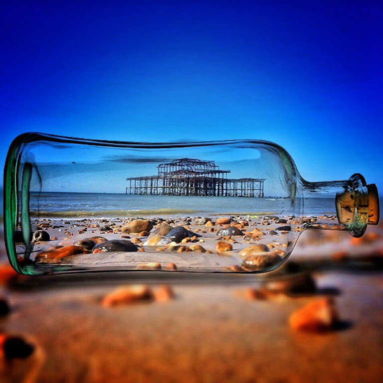 Brilliant warped and dreamy photos of Brighton by Solly Levi https://t.co/lsnP4pnfh4 https://t.co/Qfs9decpcs