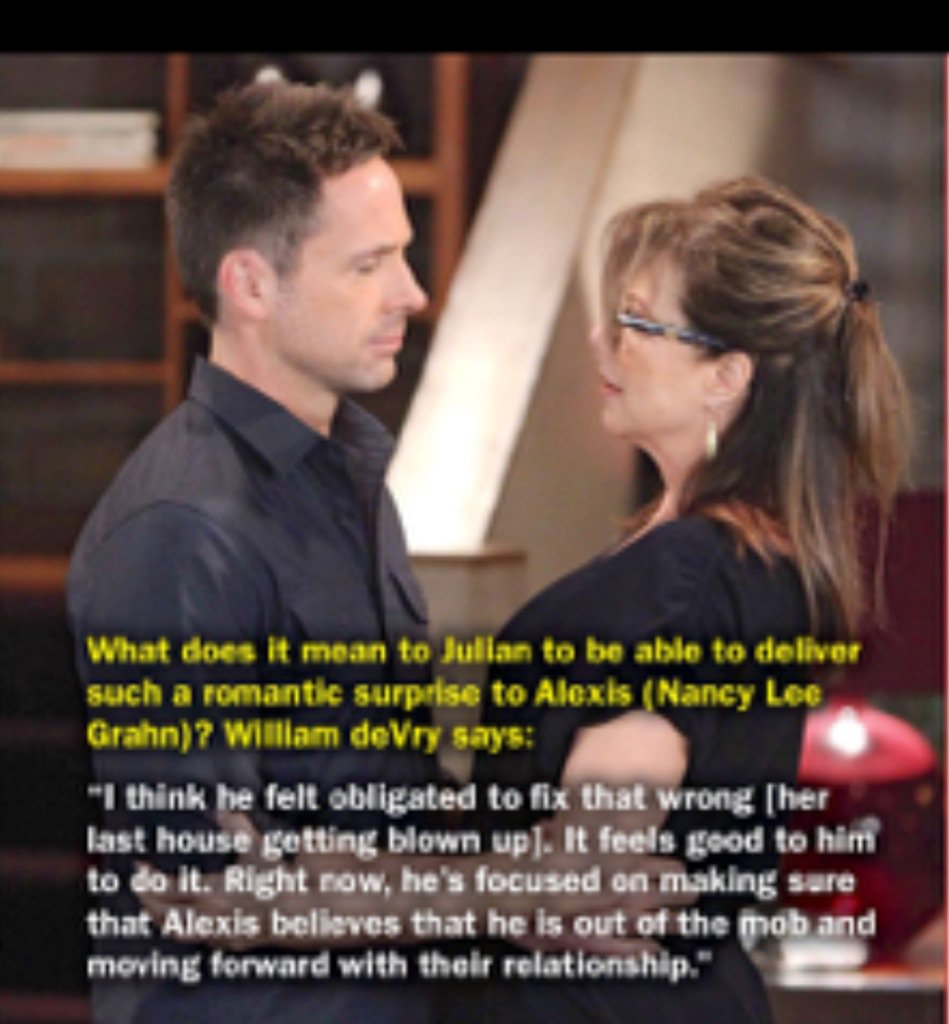 Love this quote of @WilliamdeVry1#love #julexis #gh https://t.co/Rq0cSjZyrk