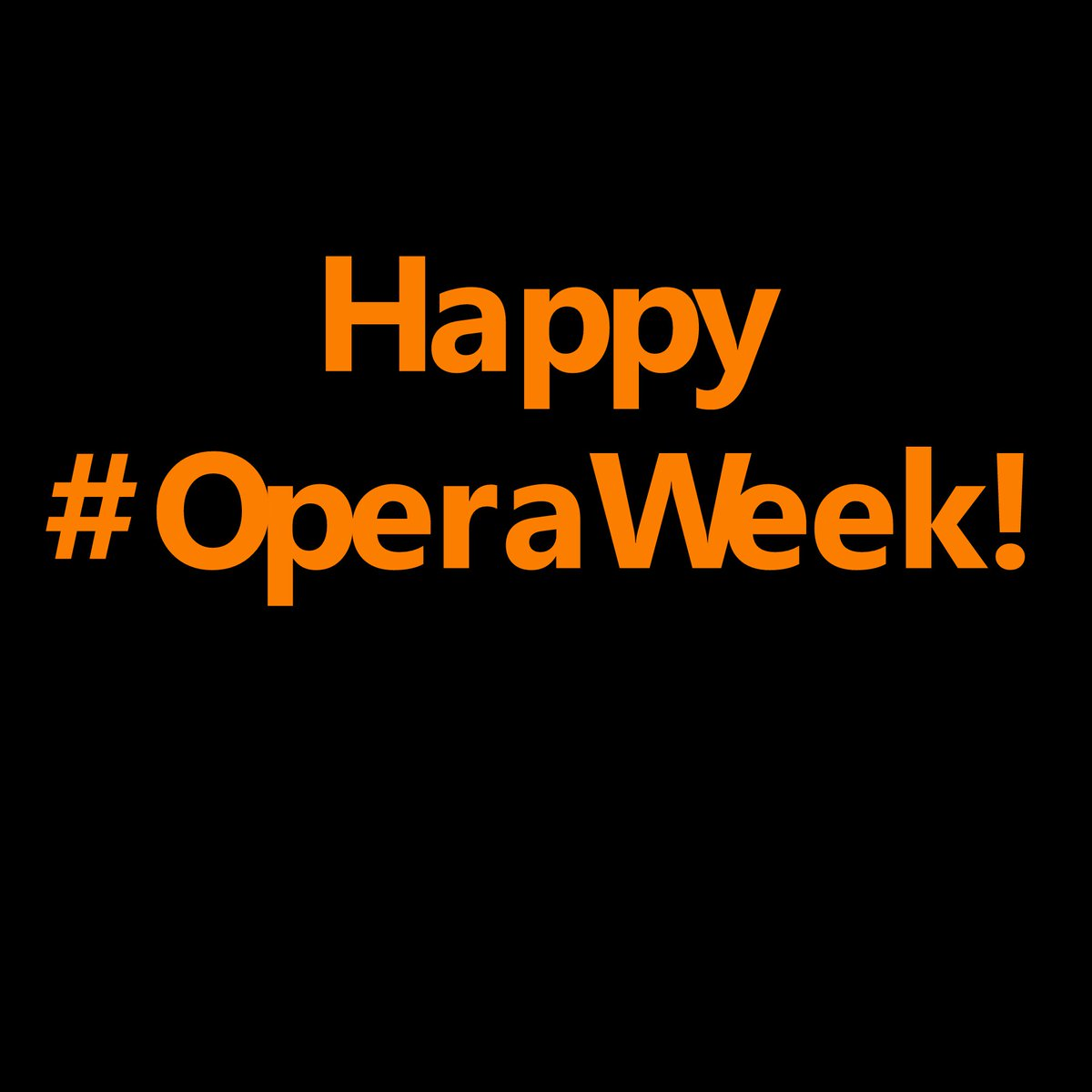 Happy National #OperaWeek! We are thrilled to be bringing you opera alongside our 10 community partners! https://t.co/7rILF3CPOt