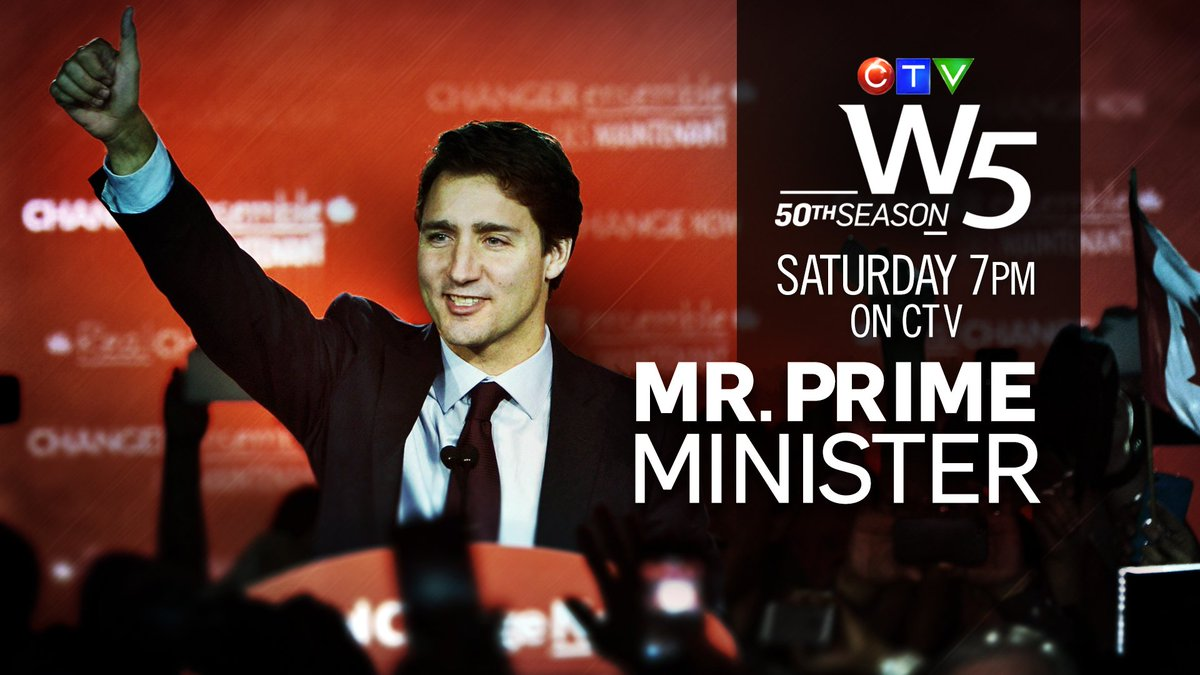 Sat on #W5 the first, exclusive interview with PM-designate @JustinTrudeau The inside story of Elxn42 7pm CTV https://t.co/jlswhB2GGz