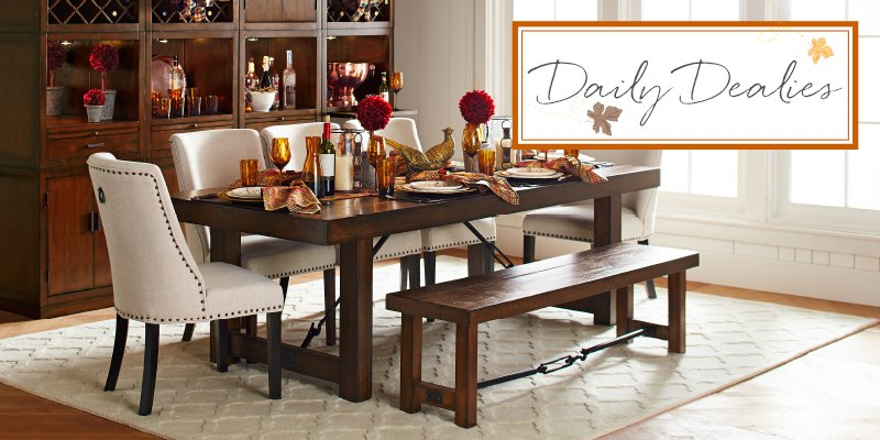Pier 1 On Twitter Daily Dealy Code Dinner 15 Off Dining Room Tables Hutches And Sideboards 10 23 25 Https T Co Fkviqc3a6i