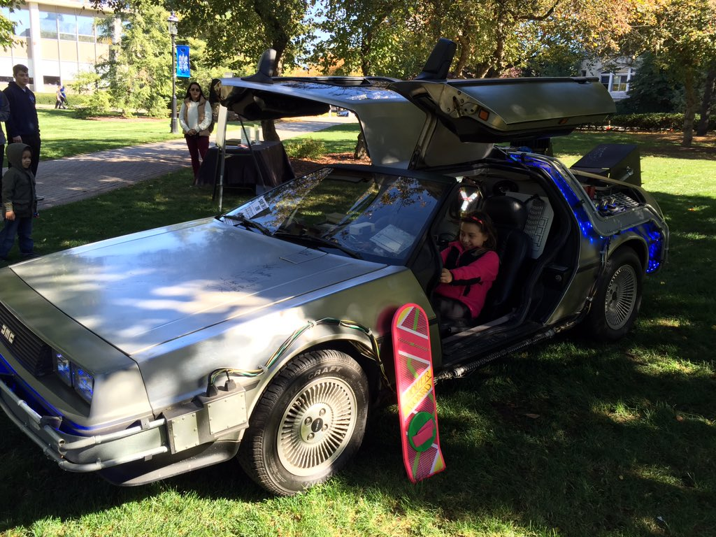 'Back to the Future' day brings DeLorean to SHU