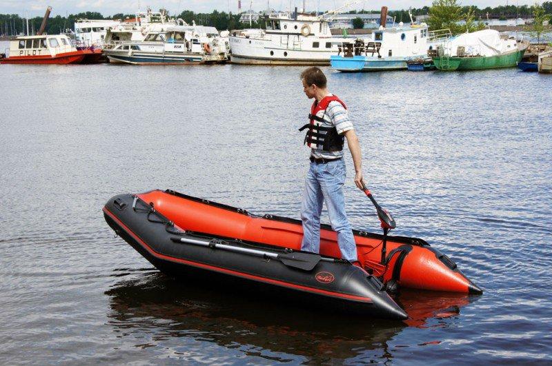 пол для лодки с надувным дном
