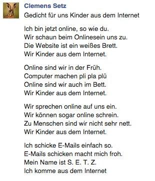 Clemens Setz على تويتر Für Die Die Sich Fragen Warum Bei