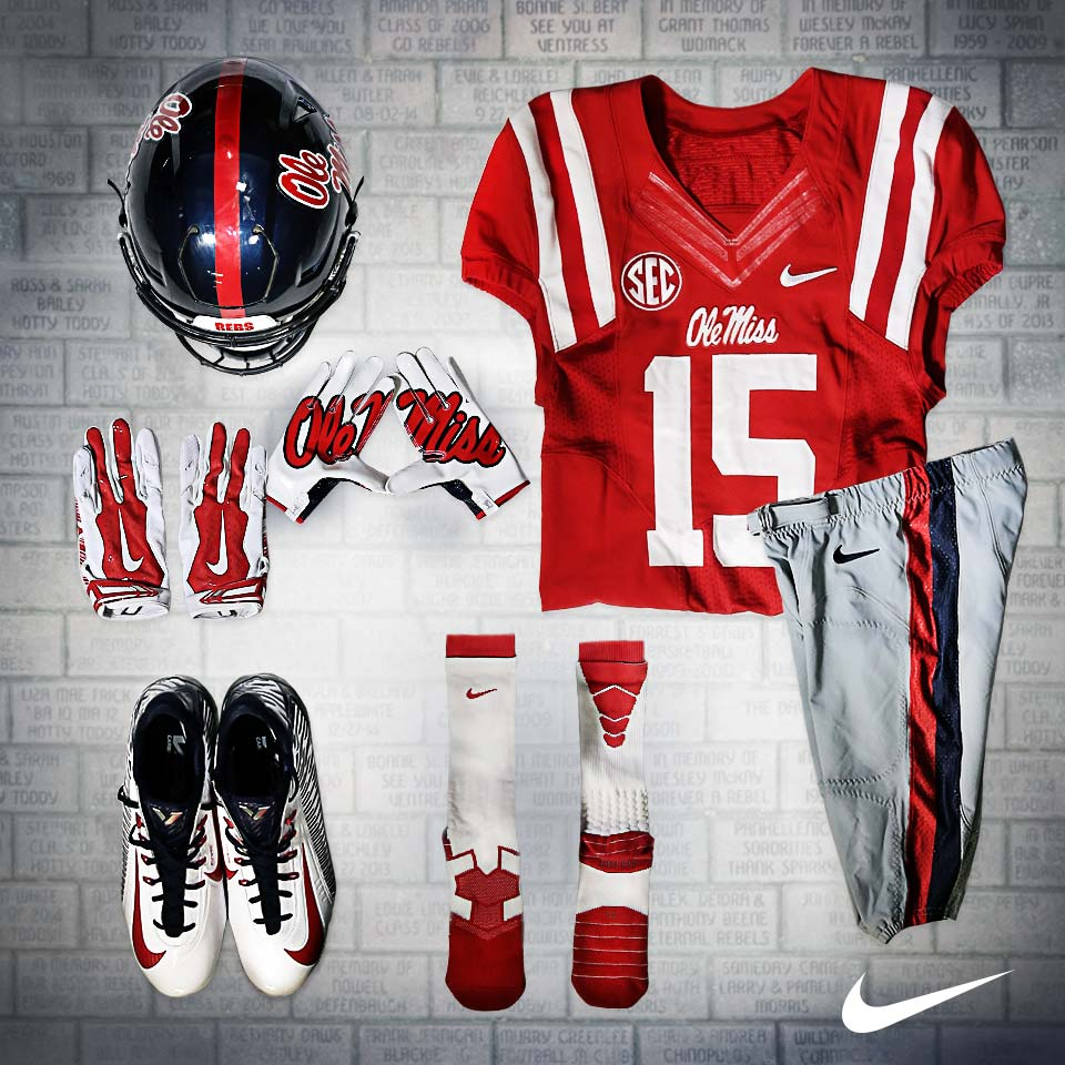 Ole Miss Uniform Tracker  2015 a7af8c969