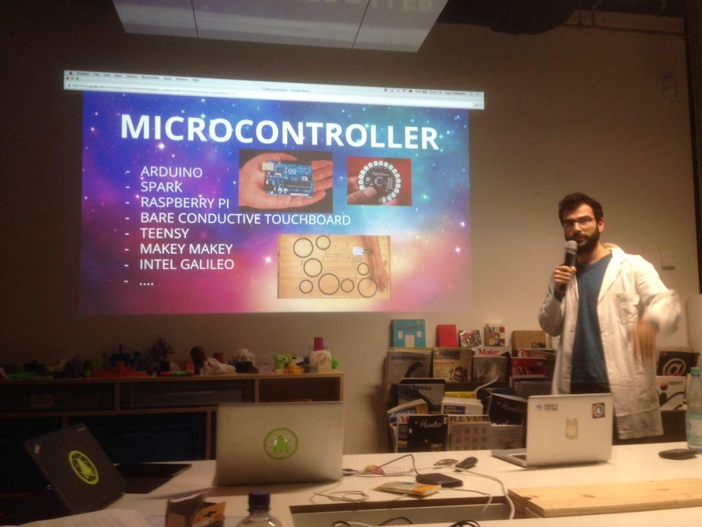 ...and MICROCONTROLLERS (blah blah blah) #SHDB15 https://t.co/A9OKrUDJnt