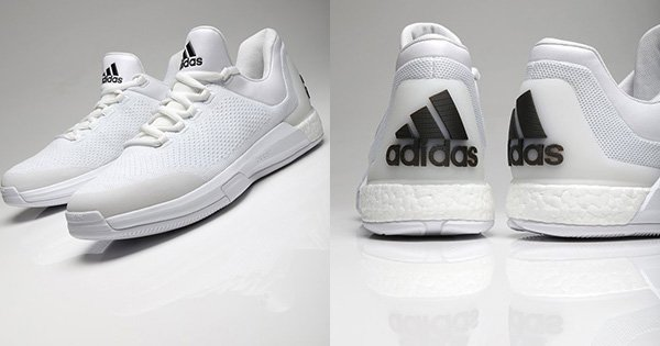 6d2d8f7497d5 photos james harden to rock adidas all white crazy light boost 2015s this  season
