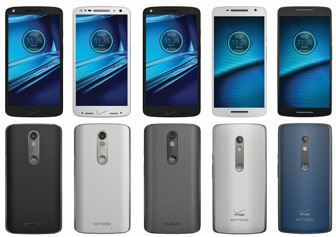 Motorola DROID Turbo 2 and Maxx 2 press renders leak out ahead of official unveiling