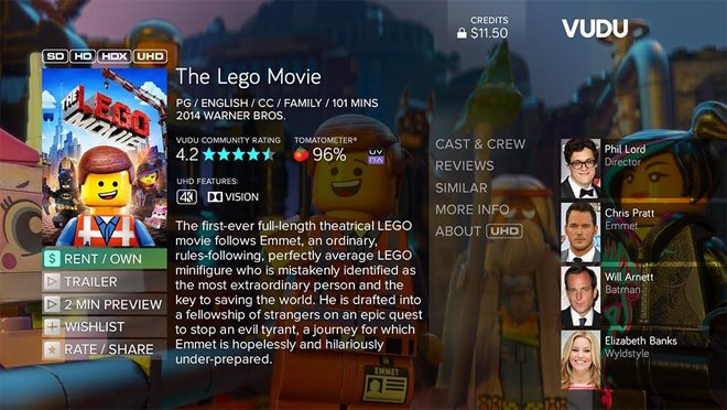 Ultra Hd 4k News On Twitter Vudu Brings Uhd Movies To Roku 4 Titles Include Man Of Steel The Lego Movie Https T Co Gyynefjrln Https T Co Yvfmth7tan