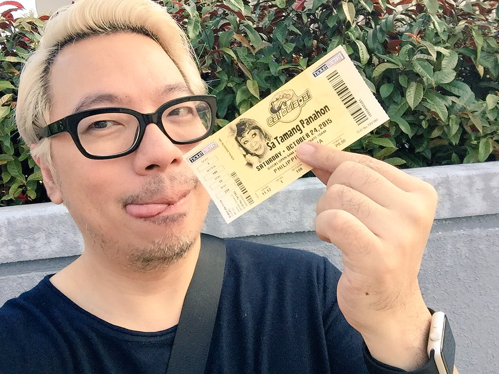 Got my ticket! #ALDubEBTamangPanahon This is the earliest concert i've ever attended