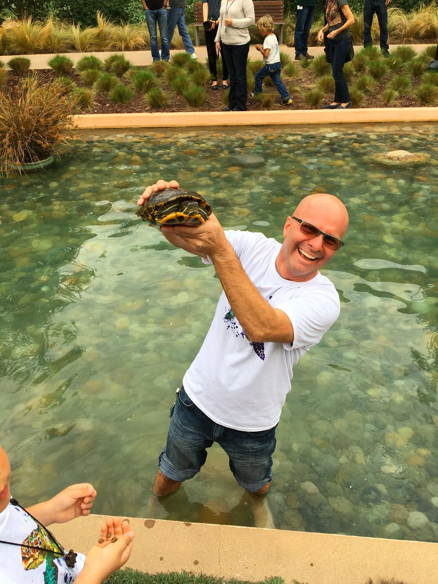 We celebrated our turtles today at @VMware HQs before they go into hibernation for winter. https://t.co/AlnmgEA0Y0 https://t.co/ARRag2kN8u