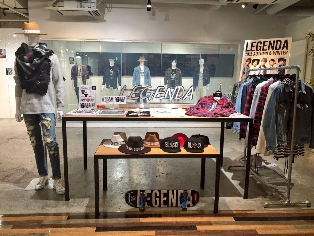 LEGENDa-iCE本日よりスタート! VANQUISH渋谷店がDa-iCEに征服されております! モデルをして頂いたシーズンヴィジュアルブックの配布も!是非お越しください! #LEGENDa_iCE #Da_iCE https://t.co/XRSfgvciz8