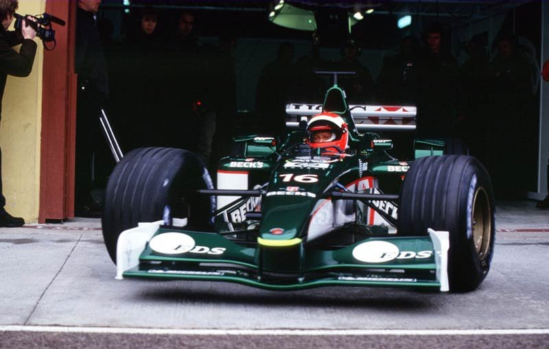 Image result for niki lauda jaguar test