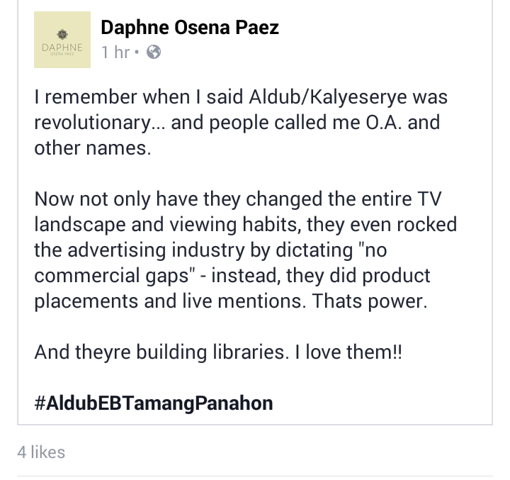 "Thanks ""@Lotski_ps: My thoughts exactly!! @DaphneOP #ALDubEBTamangPanahon https://t.co/arQipoJ0zi"""