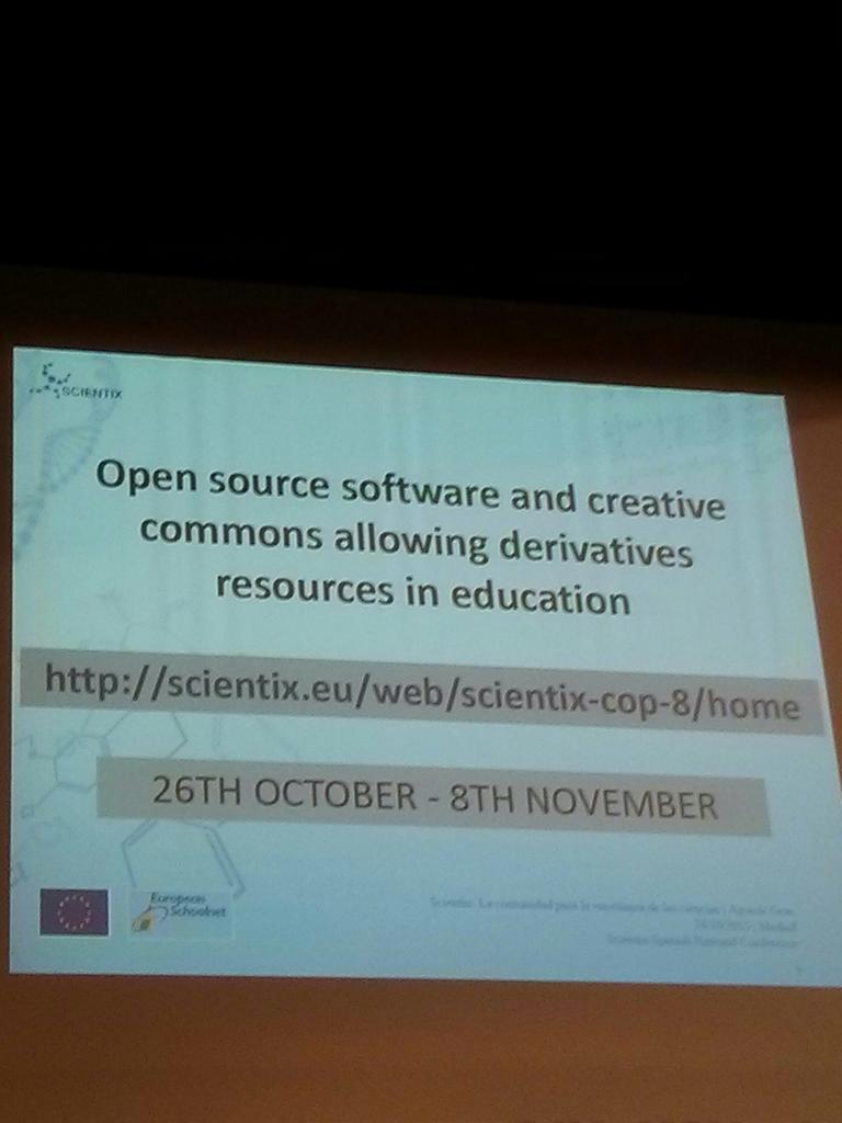 Quieres ir a Bruselas a conocer #Scientix ? Participa con al menos 5 mensajes en.. #ScientixSpain https://t.co/pQBrbknNtH