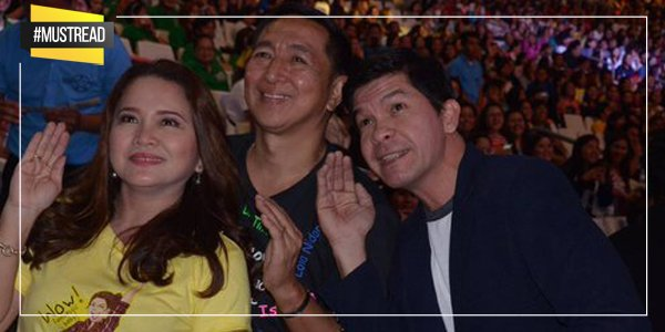 Mga magulang nina @mainedcm at @aldenrichards02, nag-selfie! https://t.co/3mCBLekjkE https://t.co/wQCKpBwVKp