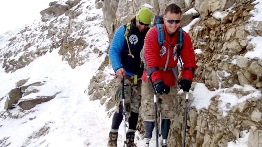 For this former Hells Angel, no mountain is too high http