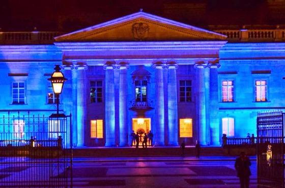 Santuario de Monserrate, Casa de Nariño y  torre Colpatria se iluminará de azul a partir de 7PM por #ONU70 #UNBlue https://t.co/JblvR2g2m0