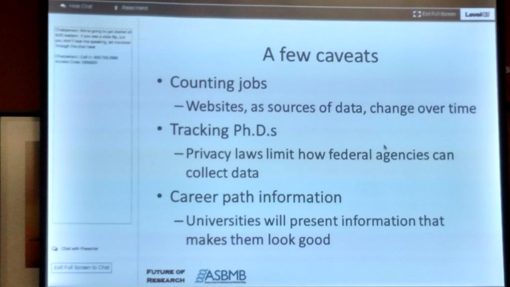 . @ChrisPickett5 's list of caveats is good to keep in mind in general, not just for @ASBMB #FORBOS15 hack day! https://t.co/yRbcZP52fA