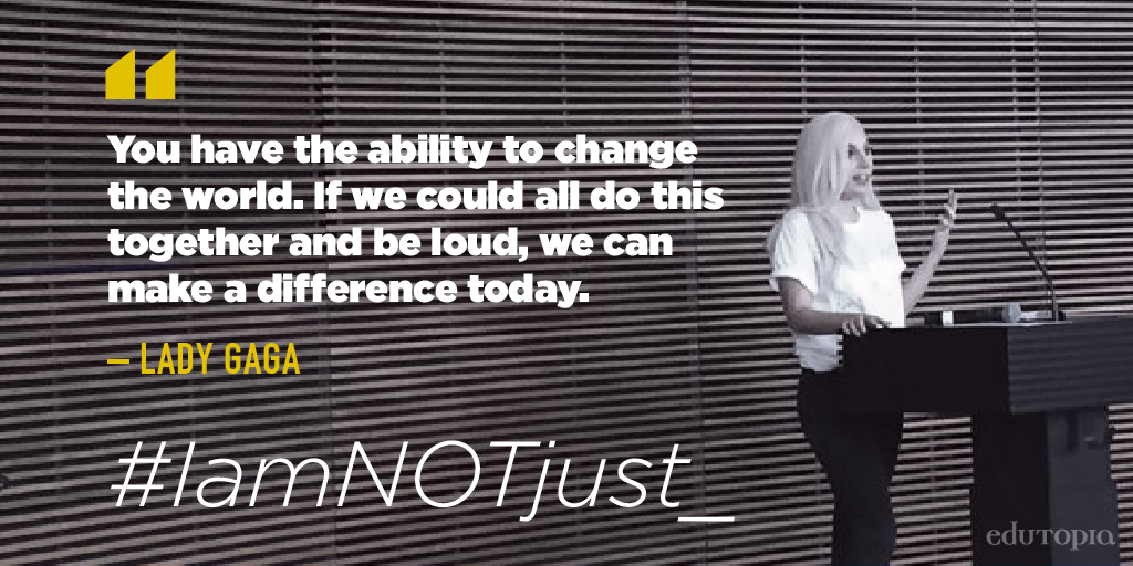 You're not just anything. Tell us. #IAmNotJust #EmotionRevolution https://t.co/2KTi4fHMAQ