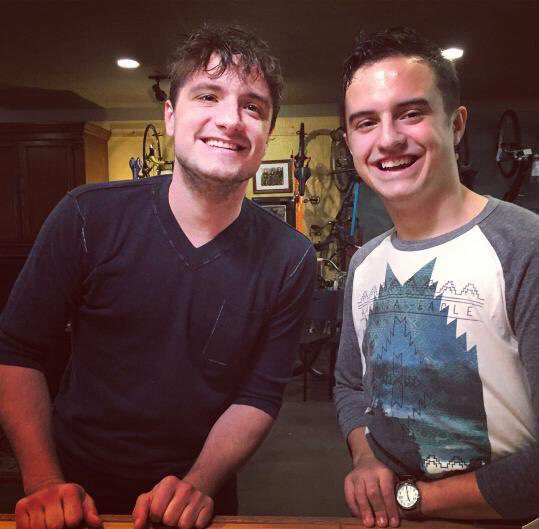 Josh And Connor Hutcherson 2016