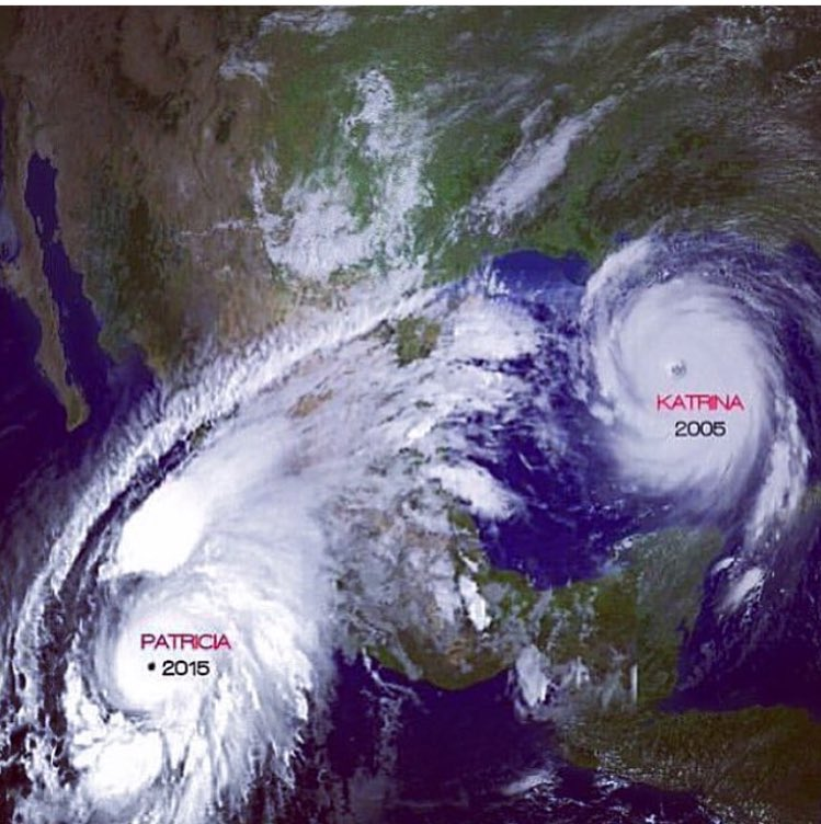 We thought we had it bad in '05 .. #PrayForMexico 🙌🏻 https://t.co/J05neXjWgF