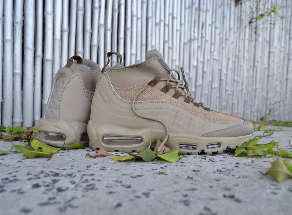 air max 95 sneakerboot khaki