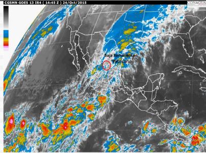 Video Damage from Hurricane Patricia in La Manzanilla in Jalisco