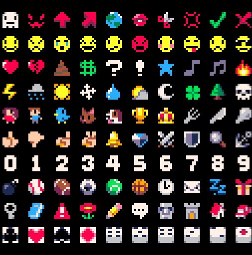 pixel art 8x8