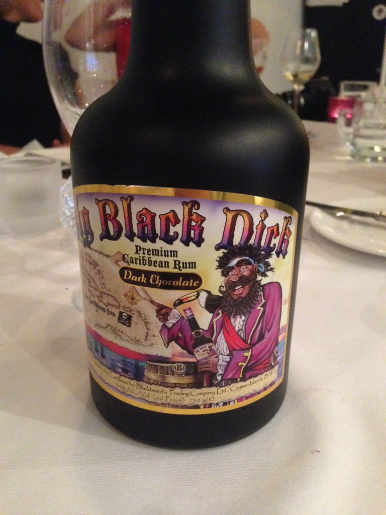 Big black dick alcohol