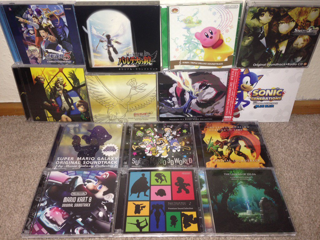 How many Video Game soundtracks do you own? | NeoGAF