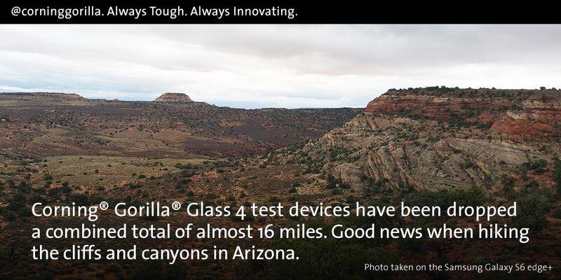 Tough Terrain in AZ made me TOUGHER. RT to WIN a #GalaxyS6EdgePlus #GorillaGlass4 #sweeps  https://t.co/ZDb3Eb8Lxc https://t.co/KCqTXekIjO