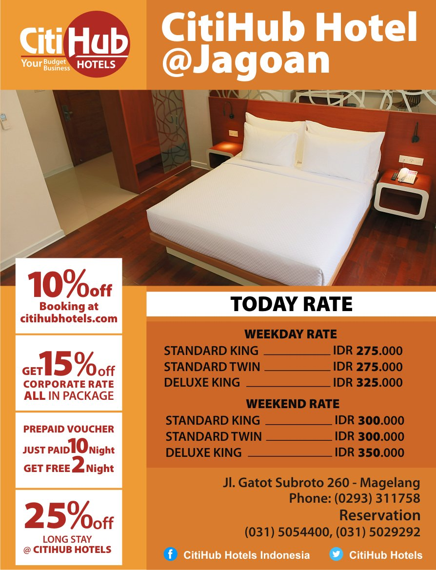 Citihub Hotels On Twitter Citihub Jagoan Hotel Jl Gatot Subroto