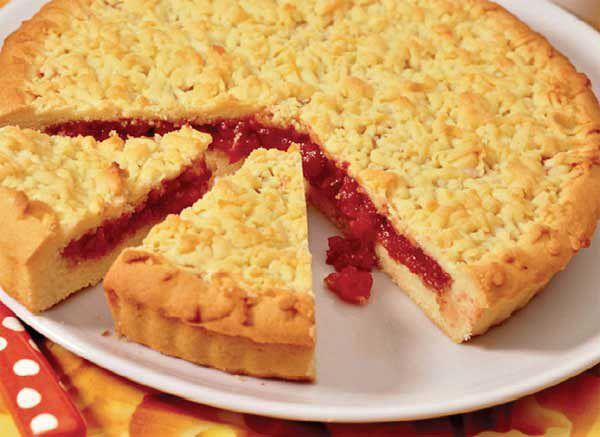 Пирог тесто с вареньем рецепт с фото