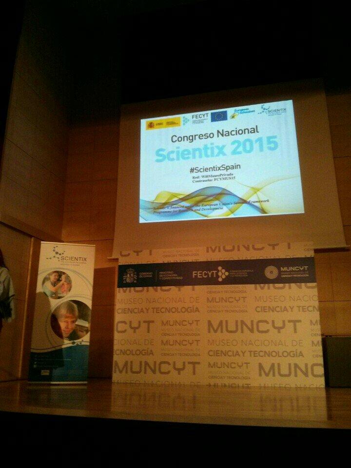 Comenzamos la segunda jornada de #ScientixSpain (at @muncyt in Alcobendas, Madrid) https://t.co/Hf33pkPXYv https://t.co/QsXmnN8yu7