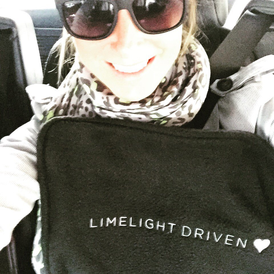 Thanks so much @LimelightAccess for the smooth ride X 💛💛💛 https://t.co/TI2Bw3Tq9J