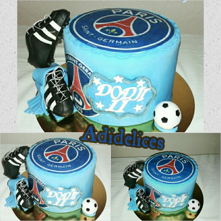 Adi Delices On Twitter Psg Cake Design By Adidelices Cake Cakedesign Soccer Football Https T Co 26quoqpy1m