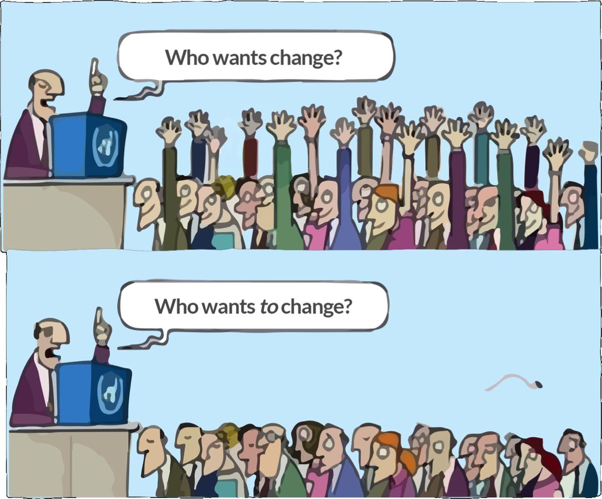 Who wants change? Who wants to change? #c4lpt https://t.co/lTrKAKUMv5