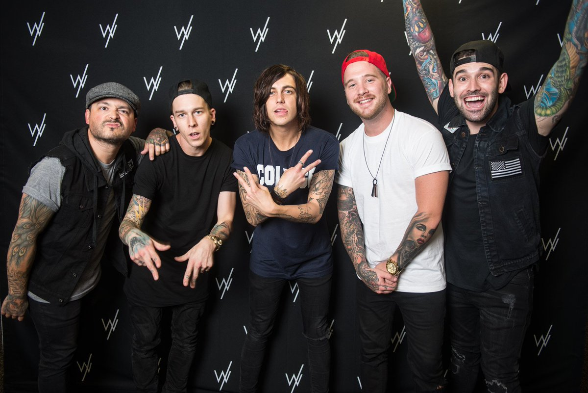 Sleeping with sirens on twitter if you got a vip upgrade for the sleeping with sirens on twitter if you got a vip upgrade for the back to the future hearts tour share your meet greet photo m4hsunfo