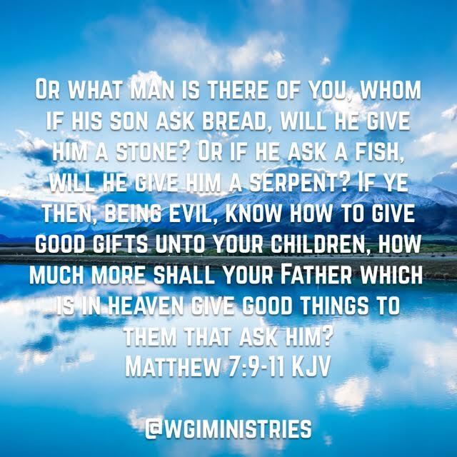 Matthew 7 11 Gifts on Zazzle